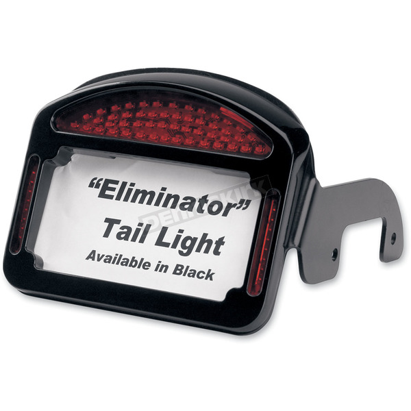 Cycle Visions Eliminator LED Taillight/License Plate Frame for Touring Models - CV-4800B