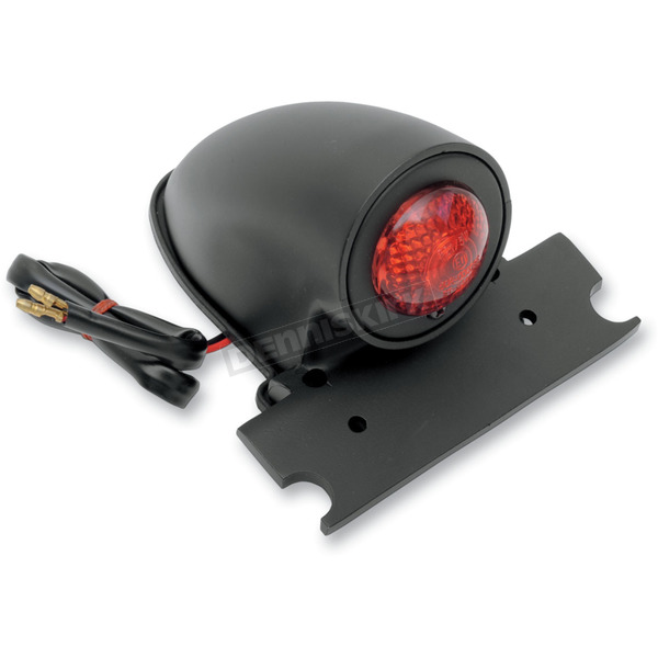 Drag Specialties Black 50S-Style Chopper Taillight - 2010-0603