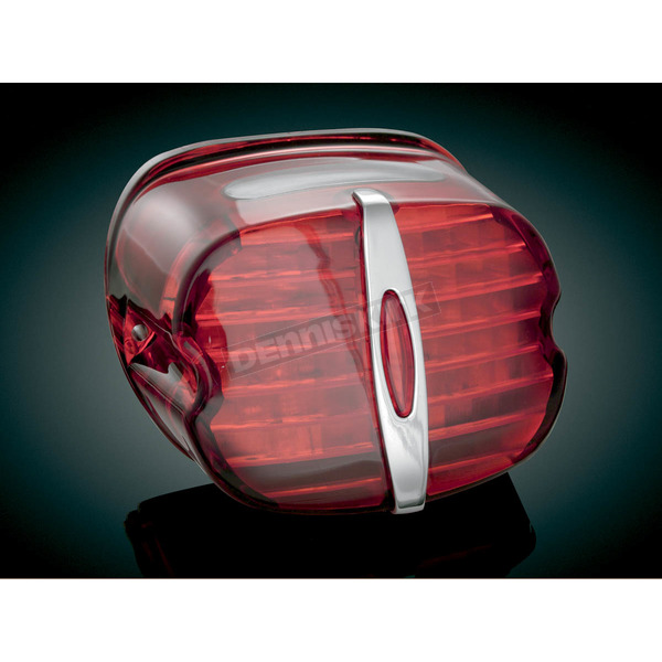 Kuryakyn Deluxe Panacea LED Taillight with Red Lens - 5420