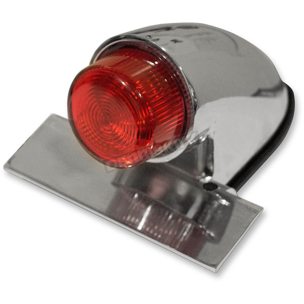 Emgo Chrome Sparto Replica Taillight w/Projected Lens  - 62-30390
