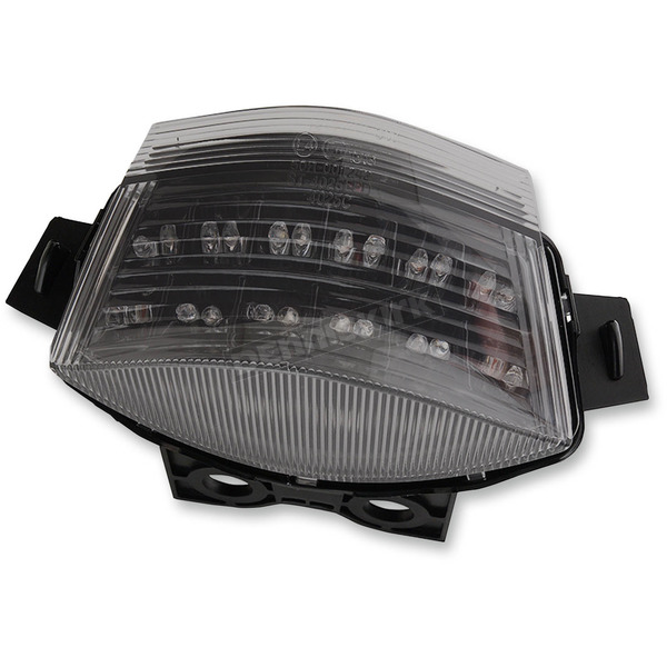 Competition Werkes Black Integrated Taillight w/Smoke Lens - MPH-40025B