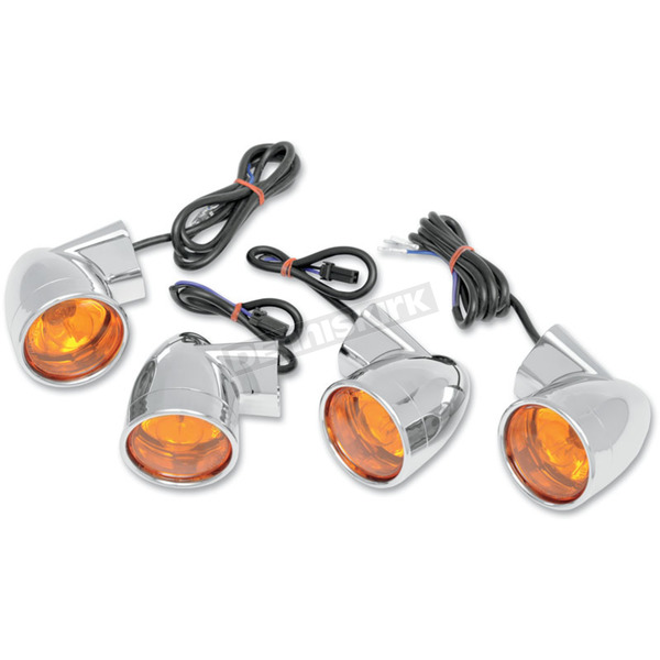 Drag Specialties Bullet-Style DOT-Approved Turn Signal Kit - 2020-0391