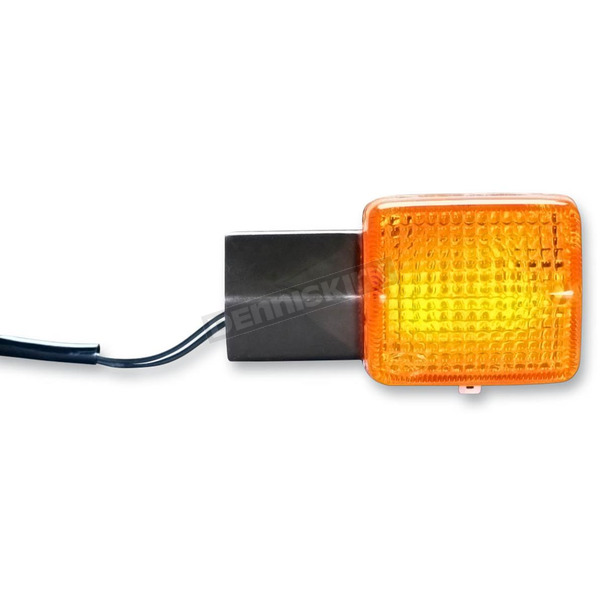 K & S DOT Approved Turn Signal w/Amber Lens - 25-1083