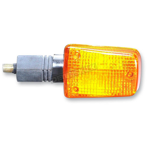 K & S DOT Approved Rear Right/Left Turn Signals w/ Amber Lens - 25-3125