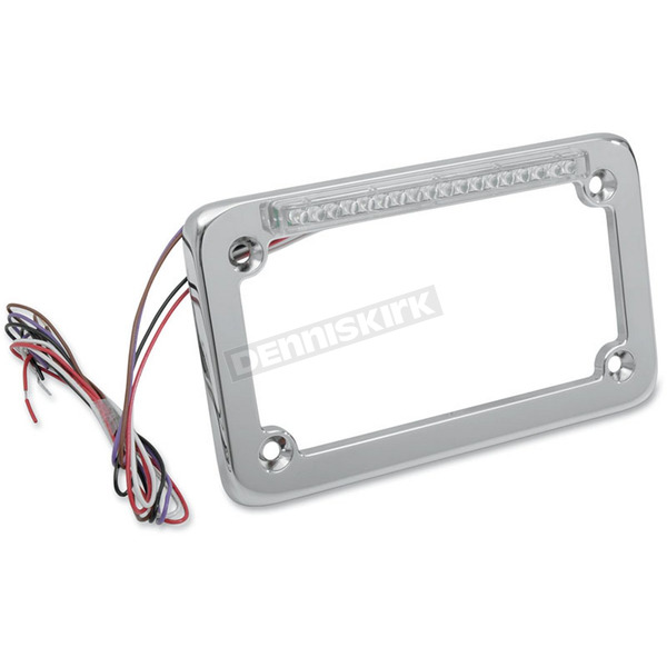 Signal Dynamics Single-Row LED License Plate Frame w/Turn Signals - 02601
