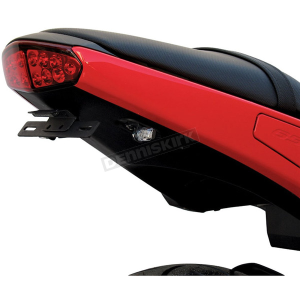 Targa Tail Kit with Black/Clear Turn Signals - 22-466L