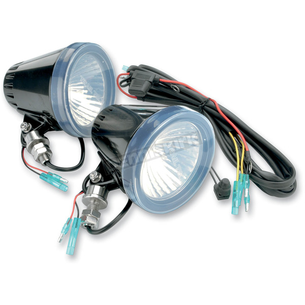 Trail Tech Dual HID SC4 Light Kit w/Harness - 4412-SS