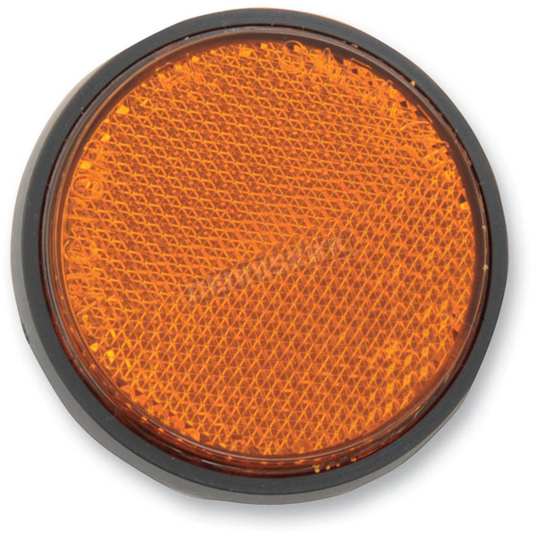 Chris Products 5mm Stud Amber Reflector - RR1A
