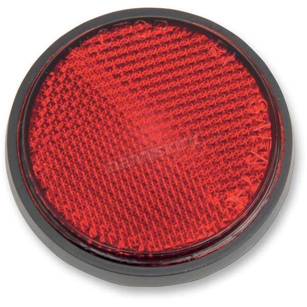 Chris Products Adhesive Back Red Reflector - RR2R