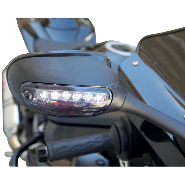 Competition Werkes Stealth DRL Integrated Turn Signals - MPH-12107CS