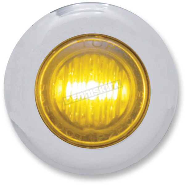 Pro-One Mini Amber LED Marker Lights with Clear Lens - 402160