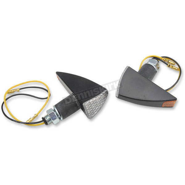 Competition Werkes 2 1/2 in. X 1 1/2 in. Tri-Style LED Marker Lights with Black Matte Body - MPH-1193B