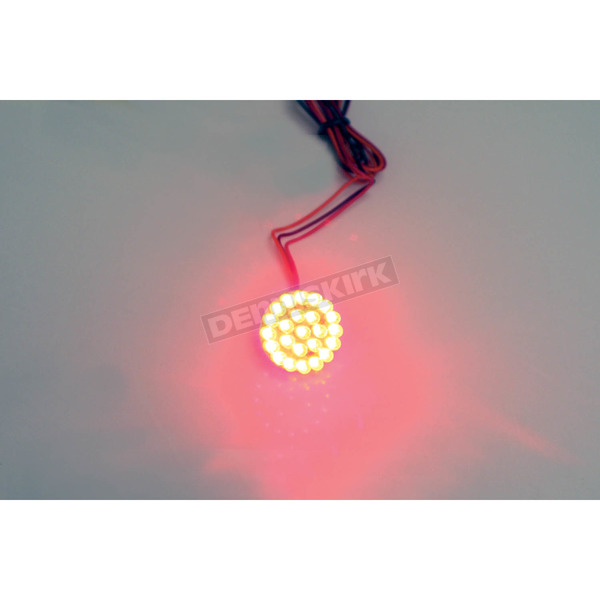 Custom Dynamics 1-1/4 in. Universal Red LED Cluster - GEN-125-R