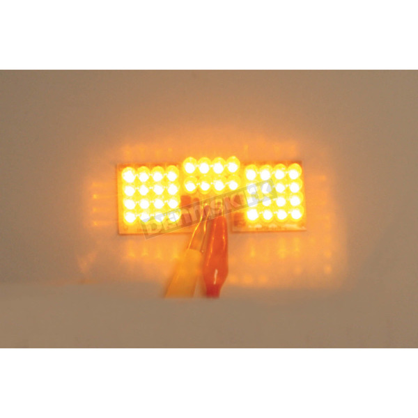 Front Fender Tip Amber LED Light - GEN-FT-A