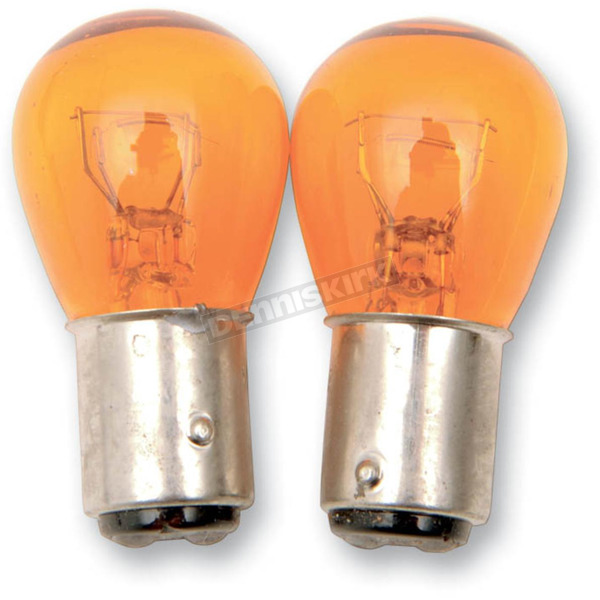 Advanced Lighting Double Contact Natural Amber Bulb - X1157-NA