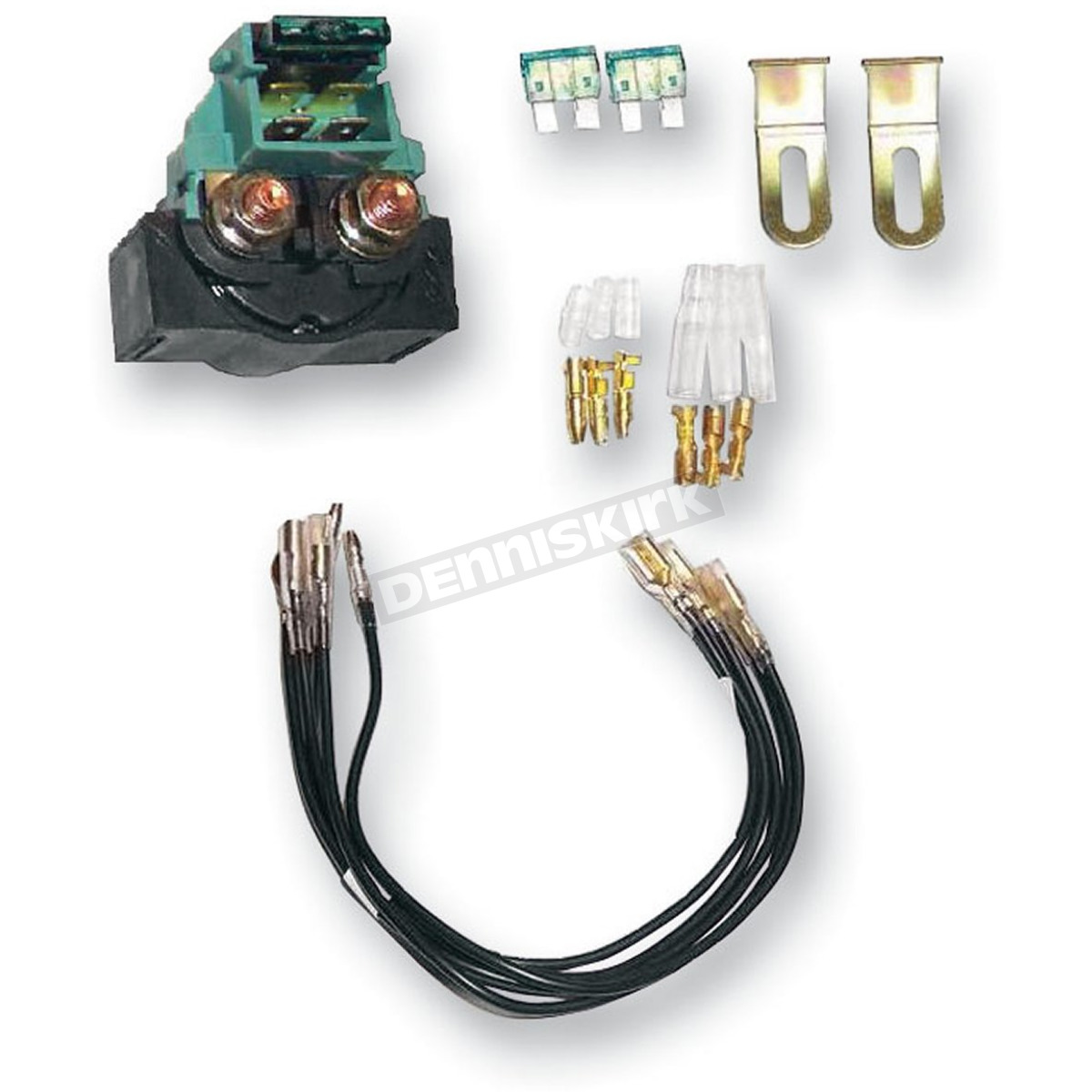 K & S Universal Starter Relay - 23-1000 Dirt Bike Motorcycle ... Universal Atv Solenoid Wiring Diagram on atv horn wiring diagram, atv starter diagram, atv contactor wiring diagram, atv wiring harness diagram,