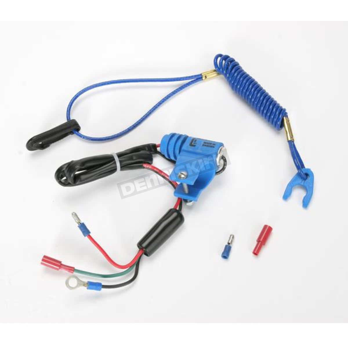 Gunnar Normally Closed Blue Tether Kill Switch Gk1012nc Dirt Bike Remote Control Atv Wiring