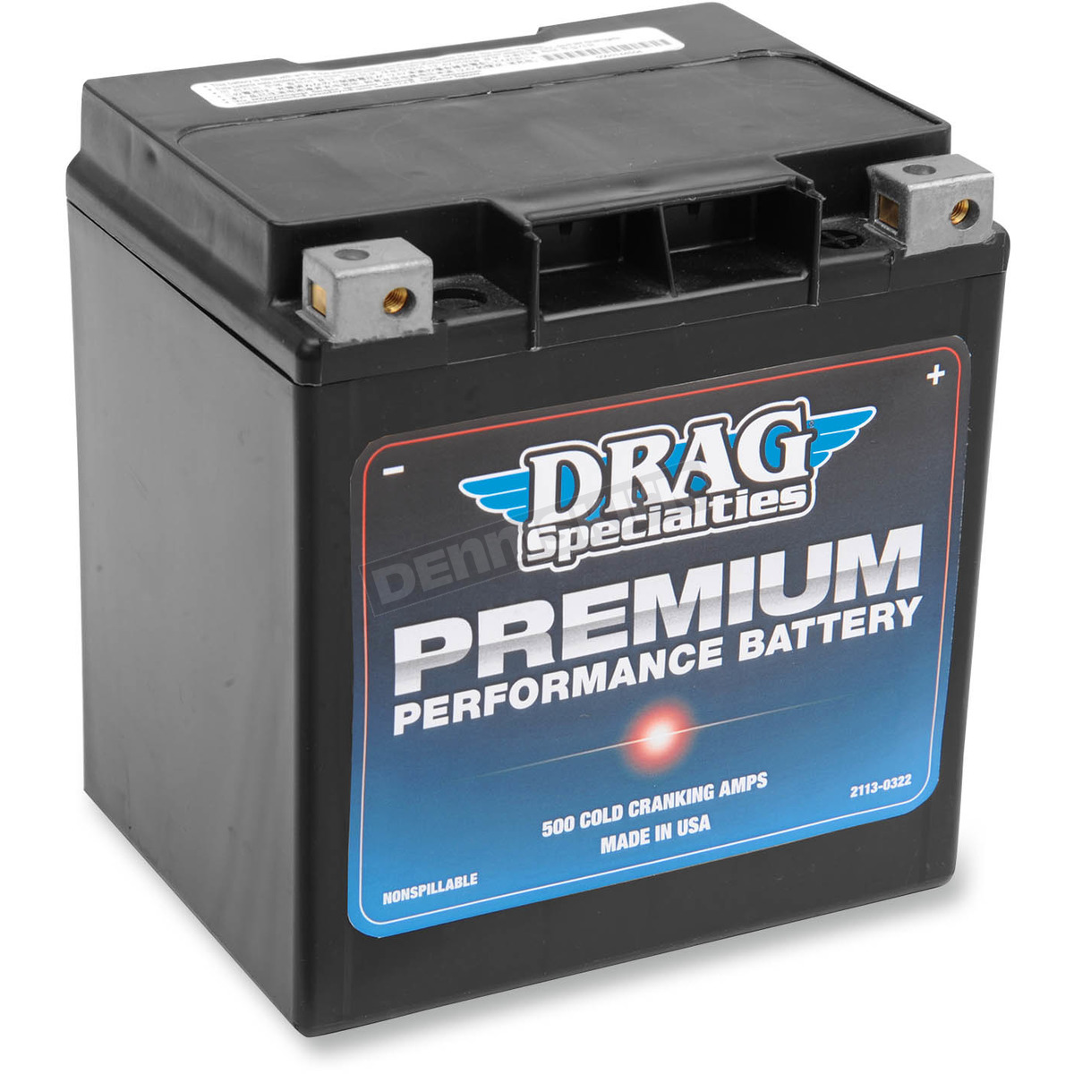 Harley Davidson Battery >> Drag Specialties Premium Performance 12 Volt Agm Battery 2113 0322
