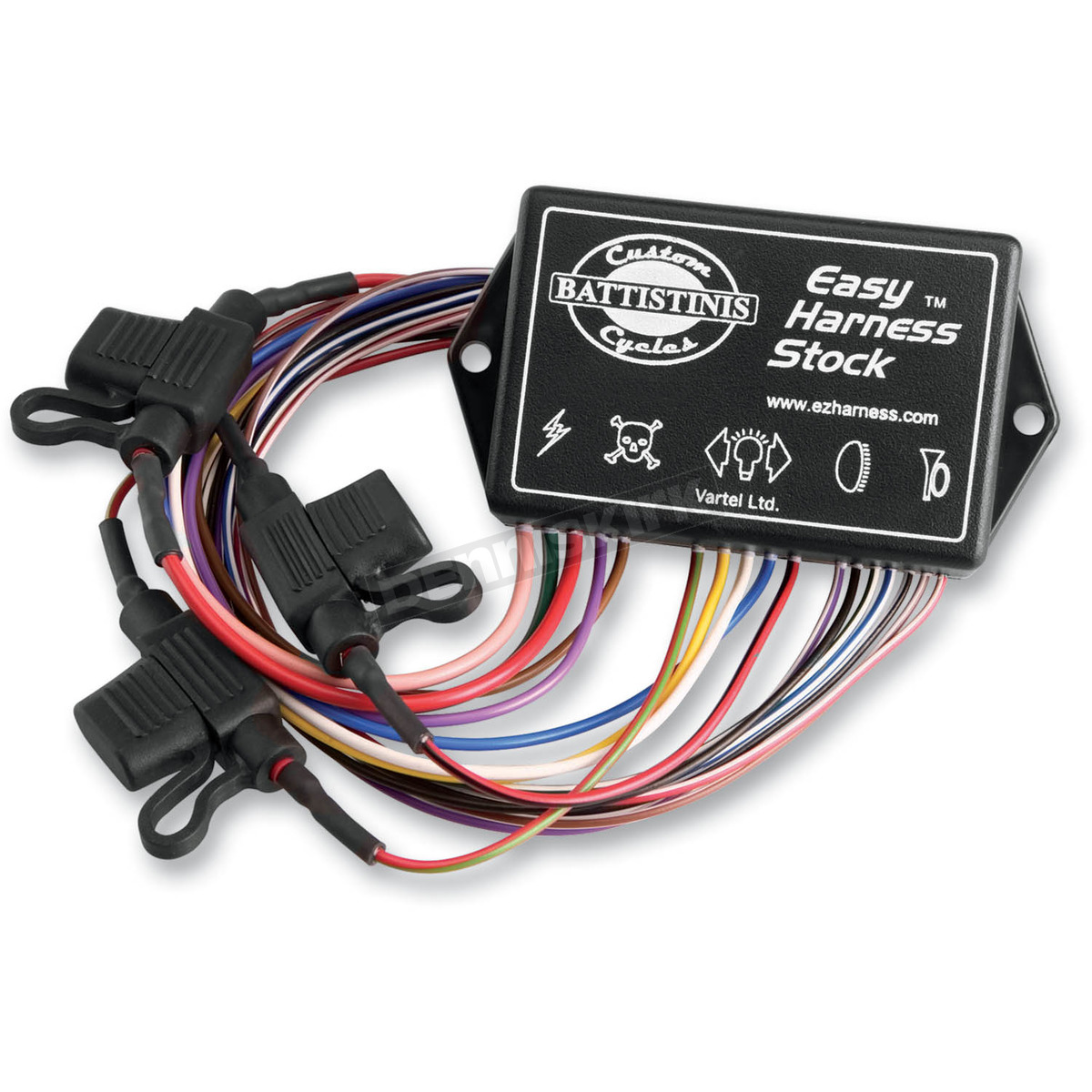 battistinis wiring harness controller 15 240 harley. Black Bedroom Furniture Sets. Home Design Ideas