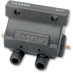 Andrews Black 4.8 ohm Supervolt 12v Ignition Coil - 237230