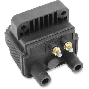 Drag Specialties 3 Ohm Mini Dual Fire Ignition Coil - 2102-0275