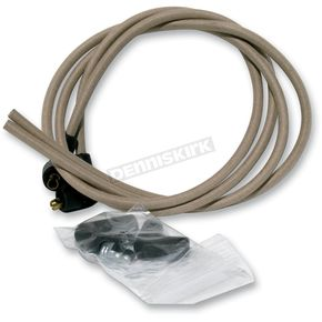 NYC Choppers Beige Cloth Covered Ignition Wire Kit - BEIG-WIRE