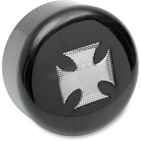 Drag Specialties Horn Cover w/Maltese Cross Insert - 2107-0029