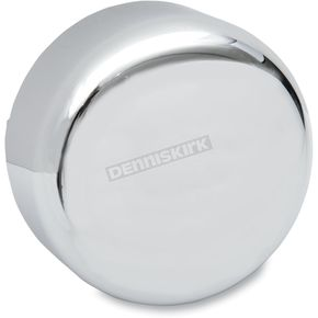 Drag Specialties Chrome Round Horn Cover  - 2107-0043