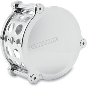 Battistinis Custom Cycles Chrome Smooth Horn Cover for Models w/Cowbell Style Horn Cover - 03-802