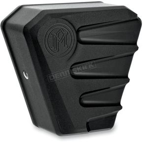 Performance Machine Black Ops Scallop Horn Cover - 02182001SCASMB