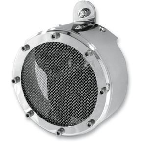 Pro Pad Chrome Mesh Center Mini-Beast XR Air Horn - MBHXr-MCC