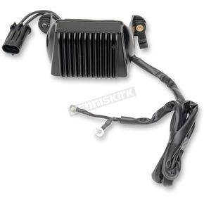 Drag Specialties Black Voltage Regulator  - 21120790