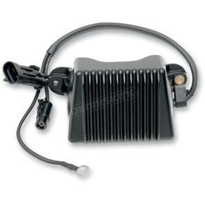 Drag Specialties Black Voltage Regulator  - 2112-0791