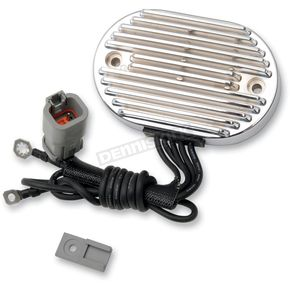 Drag Specialties Chrome Voltage Regulator  - 2112-0802