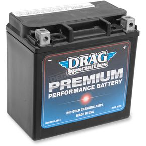 Drag Specialties Premium Performance Batteries - 2113-0325