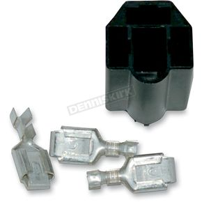 NAMZ Custom Cycle Products Replacement Headlight Socket and Terminal Kit - NHSK-01