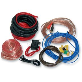 NAMZ Custom Cycle Products AMP Install Kit w/10-gauge Wire - NAPK-10G