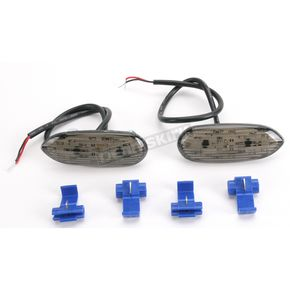 Hot Bodies Racing Flush-Mount Marker Lights w/Smoke Lens - S06GS-SIG-SMK