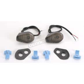 Hot Bodies Racing Flush-Mount Marker Lights w/Smoke Lens - S02GS-SIG-SMK