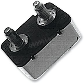 Drag Specialties 15 AMP Two-Stud Style Circuit Breakers - MC-CBR3