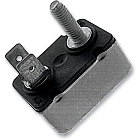Drag Specialties 40 AMP Stud/Dual-Spade Style Circuit Breakers - MC-CBR6