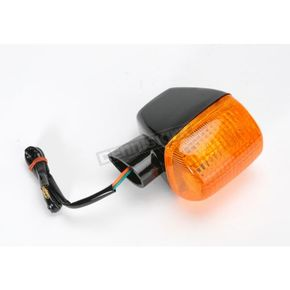 K & S Rear Right Turn Signal Assembly W/Amber Lens - 25-1113