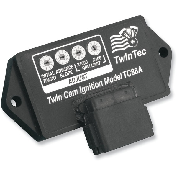 Daytona Twin Tec California A.R.B. Approved External Plug-In Ignition Module for Carbureted Models w/a Single 12-pin Connector - TC88AEX