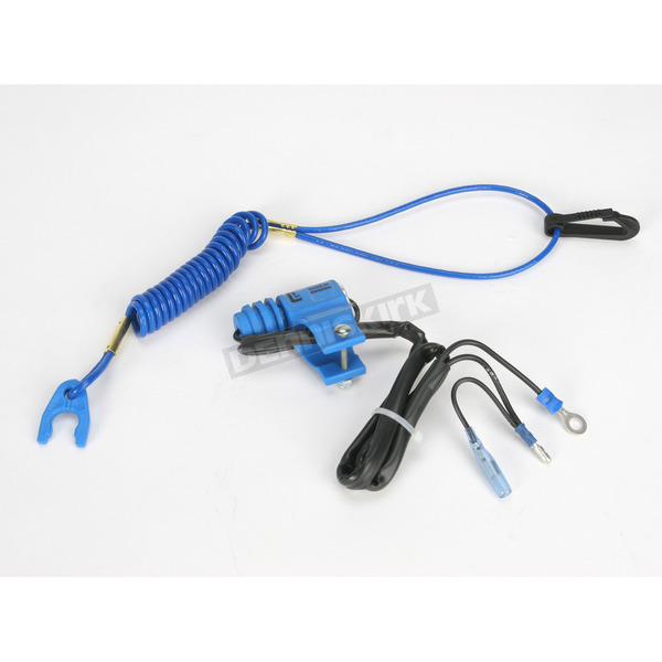 Gunnar Normally Open Blue Tether Kill Switch - GK1010NO