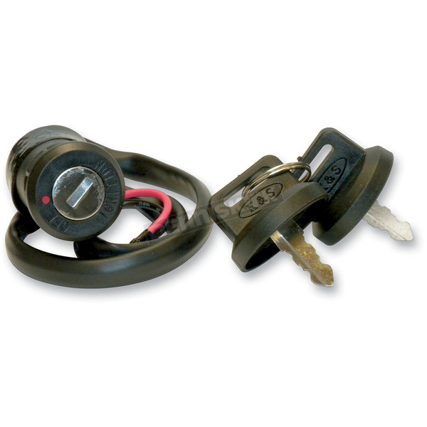 K & S Ignition Lock and Key Set - 12-0060