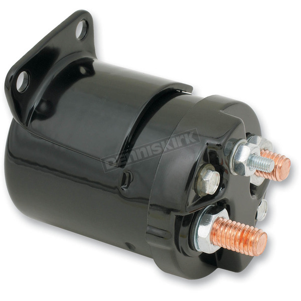 Accel Early Black Single Bracket Solenoid - 40111B