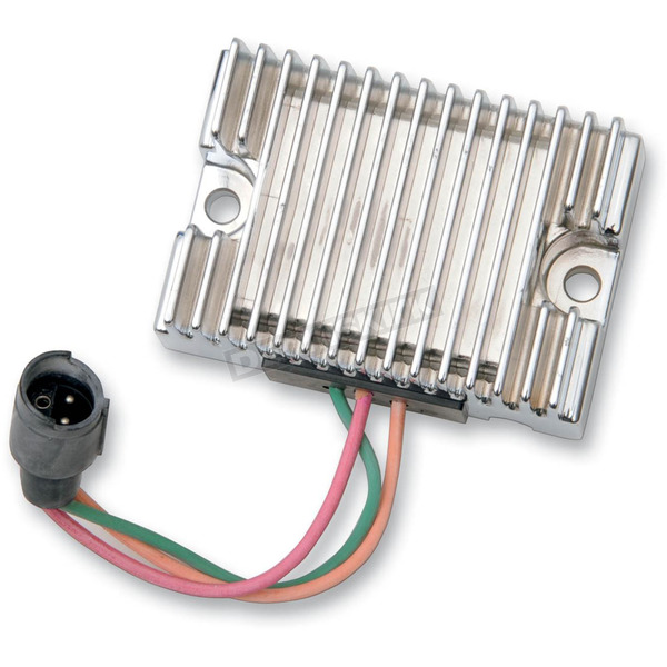 Drag Specialties Chrome Voltage Regulator - 2112-0814