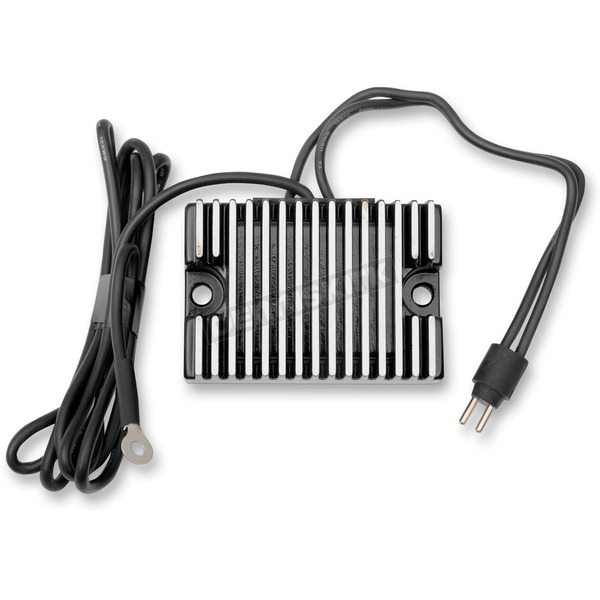 Drag Specialties Black Voltage Regulator - 2112-0825
