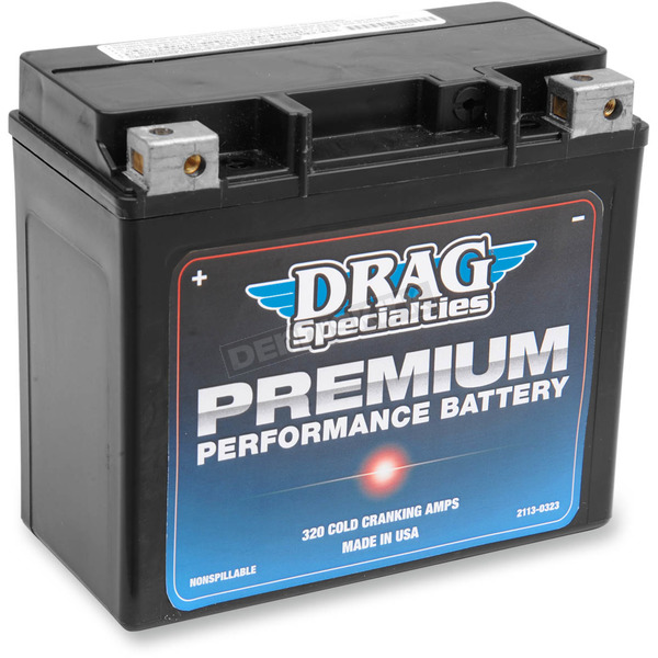 Drag Specialties Premium Performance Batteries - 2113-0323