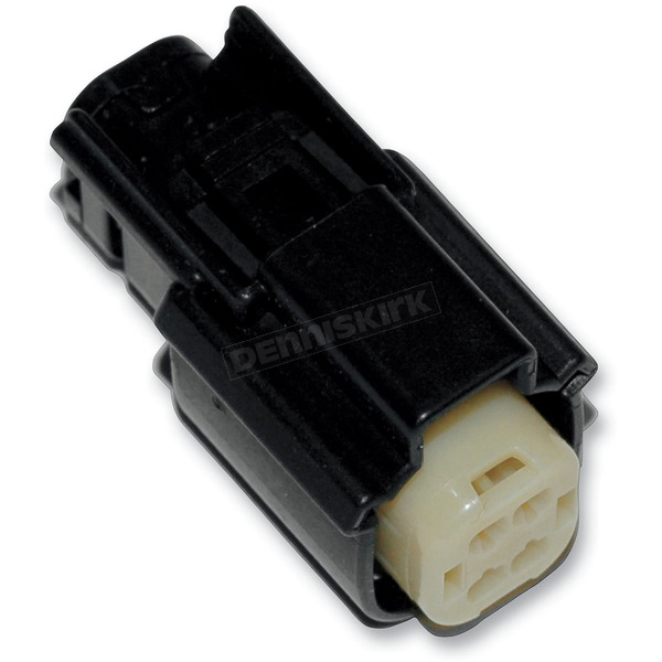 Black Molex MX 150 4-Pin Female Connector - NM-33472-0401
